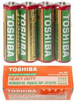 Батарейка TOSHIBA AA (R6) ПАЛЬЧИКОВЫЕ