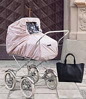 Elodie Details - Дождевик для коляски, Powder Pink