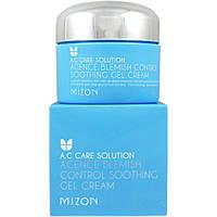 Увлажняющий успокаивающий крем-гель для проблемной кожи MIZON Acence Blemish Control Sooting Gel Cream, 50 мл