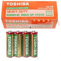 Батарейка TOSHIBA AAА (R3) МИЗИНЧИКОВЫЕ