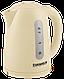 ⭐ Чайник электрический GRUNHELM EKP-2217 C (бежевый) 1,7 л, 2200 Вт,диск, фото 2