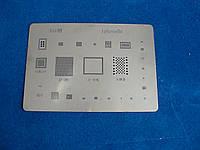 BGA шаблоны  пластина с трафаретами 25шт в 1 для реболлинга Apple Iphone 5S