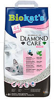 Biokat's Dimond Care 8л - комкующийся наполнитель  для кошачьего туалета (G-613253)