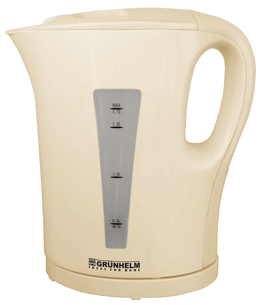 Чайник електричний GRUNHELM EKP-2217I (бежевий) 1,7 л, 2200Вт,спіральний