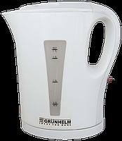 Чайник электрический GRUNHELM EKP-2217I (белый) 1,7л, 2200 Вт, спиральный