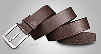 Мужской кожаный ремень. Модель 2139, фото 4