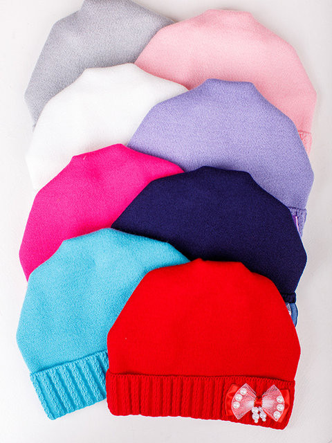 Детская шапка Веста Для девочек, Белый