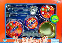 Кухонный набор нержавеющий с рисунком, 7 предметов, Champion