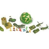 Военный набор PD076-3  каска, техника, оружие, солдаты в сетке