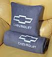 Набор: Подушка + плед  с вышивкой любого логотипа автомобиля!, фото 3