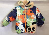 Куртка для мальчика с пазлами