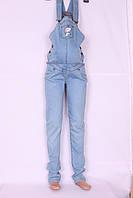Модный джинсовый комбинезон для беременных Cemifa