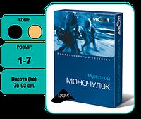 Моночулок (прав/лев) антиварикозный компрессионный, мужской, 2 класс, 23-32мм рт.ст., Алком (Украина) черный