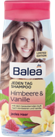 Шампунь Balea Jeden Tag Shampoo Himbeere Vanille LE, 300 ml