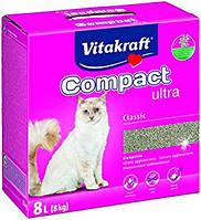 Vitakraft Compact  8кг-комкующийся наполнитель (14031)