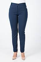 Трикотажные брюки на манжете
