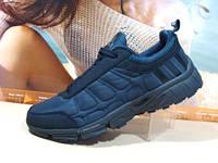 Термо кроссовки Adidas climawarm (реплика) синие 41 р.