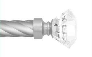 Декоративный наконечник Спектралия для кованого карниза 25 мм.