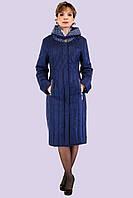 Весенний плащ-пальто с легким утеплением большого размера 52-62