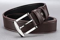 Мужской кожаный ремень. Модель 2140, фото 2