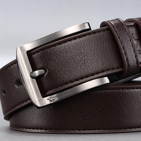 Мужской кожаный ремень. Модель 2140