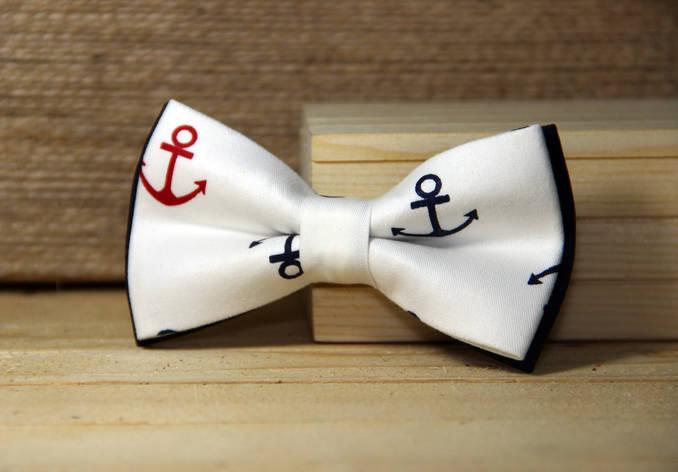 Галстук-бабочка I&M Craft anchor (010245), фото 2