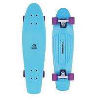 Скейт Пенни борд Penny board Tempish оригинал BUFFY 28'' Long board Голубой