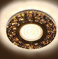 Светильник Feron 8585-2 черный, с LED подсветкой