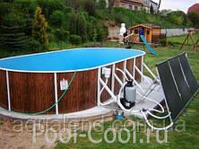 Каркасный овальный морозоустойчивый сборный бассейн 7,3х3,7х1,2м Mountfield (Чехия) 405 DL без оборудования, фото 3