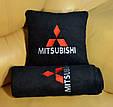 """Автомобильный плед в чехле с логотипом """"Mitsubishi"""" цвет на выбор, фото 3"""