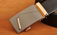 Чоловічий шкіряний ремінь. Модель 2141, фото 4