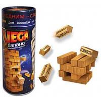 Настольная игра Vega Баланс, Джанга. падающая башня