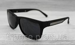 Мужские поляризационные солнцезащитные очки матовые, фото 3