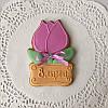 Тюльпаны. Подарки для женщин. Пряники на 8 Марта, фото 3