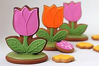 Тюльпаны. Подарки для женщин. Пряники на 8 Марта, фото 1
