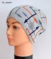 Демисезонная шапка для мальчика, фото 1
