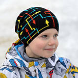 Шапка детская для мальчика Компас, фото 2