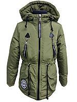 Куртка демисезонная парка на девочку 53558