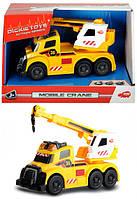 Функциональное авто Dickie Toys с раскладным краном, световыми и звуковыми эффектами, 15 см (3302006)