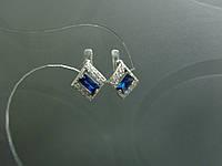 Серебряные серьги 4682