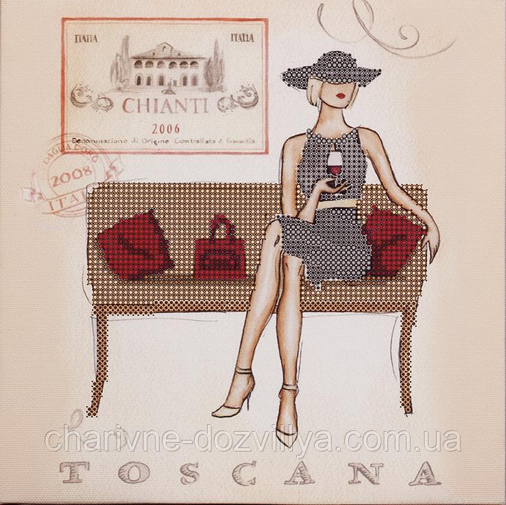 """Схема для вышивания бисером на подрамнике """"Toscana"""""""