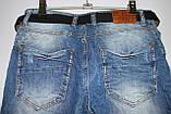 Женские рваные джинсы бойфренд больших размеров Red Sold (код 11134)29-33, фото 3