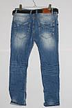 Женские рваные джинсы бойфренд больших размеров Red Sold (код 11134)29-33, фото 4