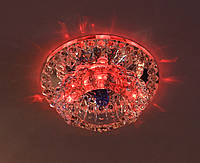 Светильник JD125 G9 с LED подсветкой RGB 2,5w