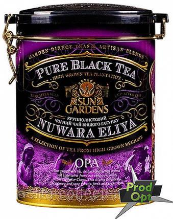 Чай чорний Ж/Б Garden ОРА 100г , фото 2