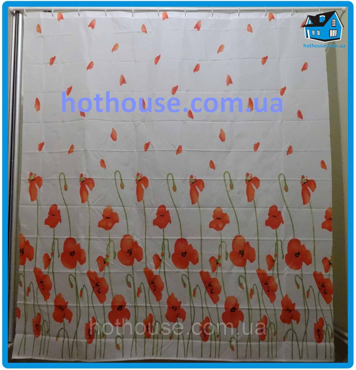Штора в ванную и душ Miranda (Турция) Poppy 180см * 200см