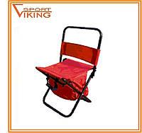 Раскладной стул для рыбалки, со спинкой и сумкой. YJYZ-29