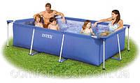 Бассейн Intex Rectangular Frame Pools - прямоугольный каркасный бассейн