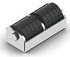Буфер роликовый 215*91*85 (резина метал)