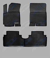 Коврики салона VW T 5 (2010>) Caravelle TOP (2-й ряд) (c печкой)